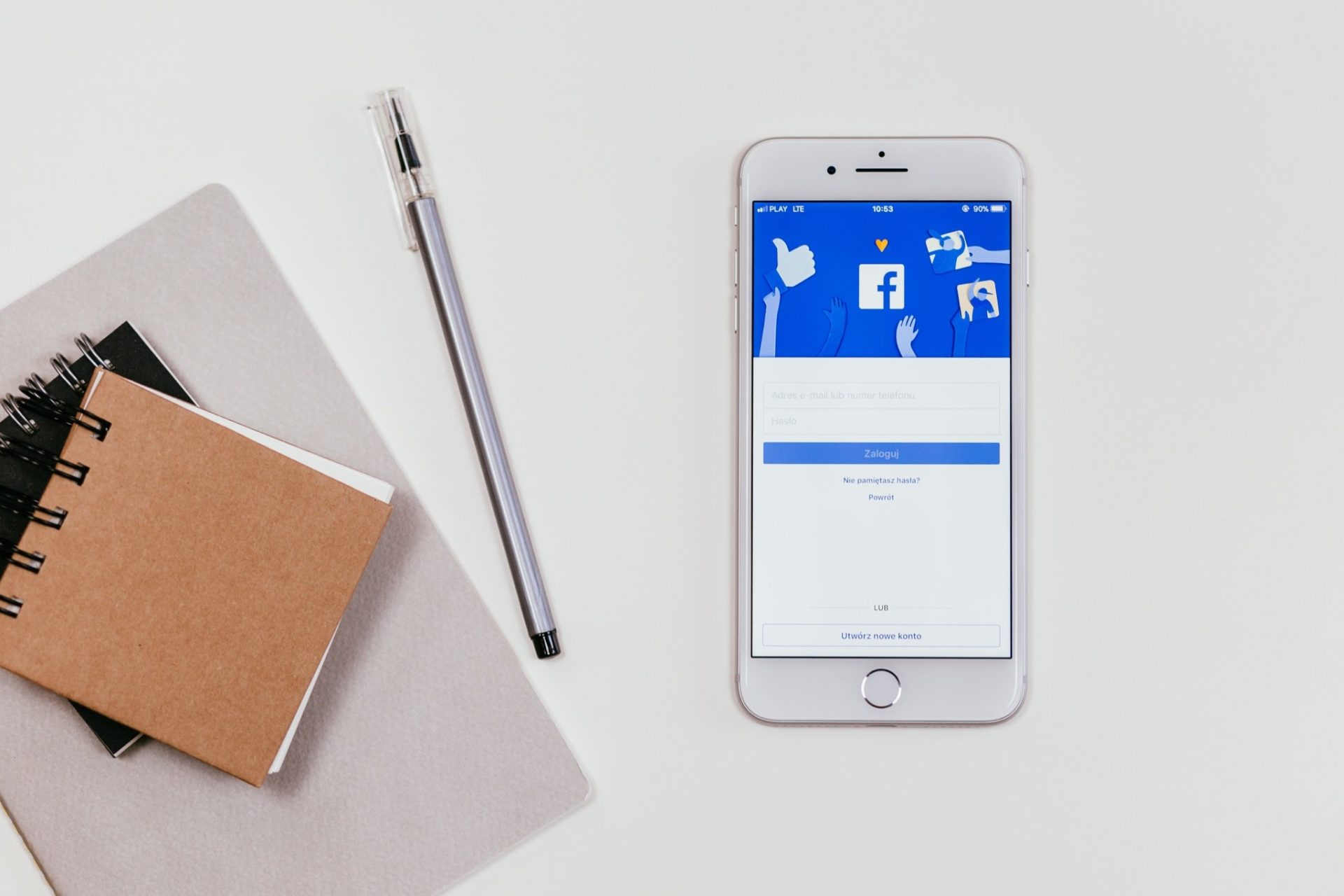how to set up facebook ads - mobile phone image